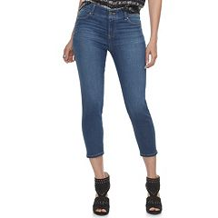 Women's Juicy Couture Flaunt It Seamless Capri Skinny Jeans