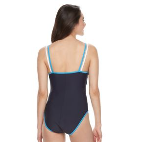 Women's Halitech Colorblock Double-Strap Swimsuit
