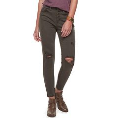 Juniors' Mudd High-Waisted Skinny Pants
