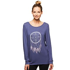 Women's Gaiam Hailey Yoga Long Sleeve Graphic Tee