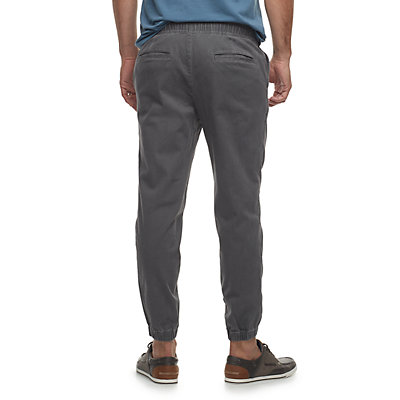 Men's SONOMA Goods for Life? Modern-Fit Stretch Twill Jogger Pants