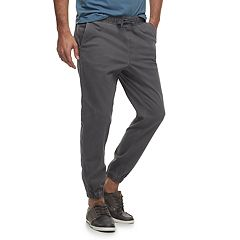 Men's SONOMA Goods for Life™ Modern-Fit Stretch Twill Jogger Pants