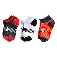 Boys 8-20 Under Armour Statement 6-Pack No-Show Socks