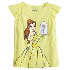 Disney's Belle Toddler Girl Glittery Graphic Tee by Jumping Beans®