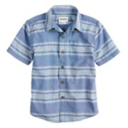 Boys 4-7x SONOMA Goods for Life? Chambray Button Down Striped Shirt