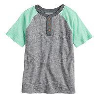 Boys 4-7x SONOMA Goods for Life™ Colorblock Raglan Henley