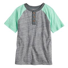 Boys 4-7x SONOMA Goods for Life™ Colorblock Raglan Henley