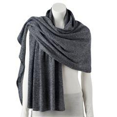 Women's Apt. 9® Cashmere Oversized Wrap Scarf