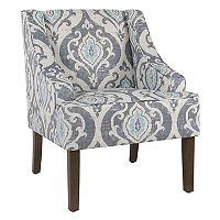 HomePop Swoop Arm Accent Chair