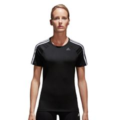 Women's adidas D2M 3-Stripe Graphic Tee