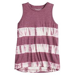 Girls 7-16 & Plus Size Mudd® High-Low Swing Tank Top