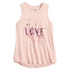 Girls 7-16 & Plus Size Mudd® High-Low Swing Tank Top