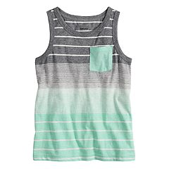 Boys 4-7x SONOMA Goods for Life™ Striped Pocket Tank Top