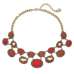 Dana Buchman Oval Link Statement Necklace