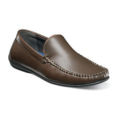 Nunn Bush Quail Valley Venetian Men's Moc Toe Slip-On Shoes