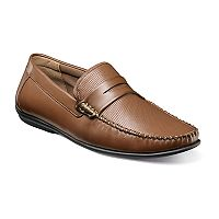 Nunn Bush Quail Valley Penny Men's Moc Toe Slip-On Shoes