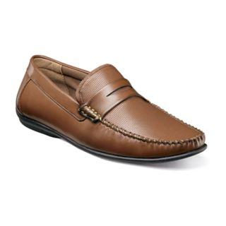 Nunn Bush Quail Valley Penny Men's Moc Toe Slip-On Shoes