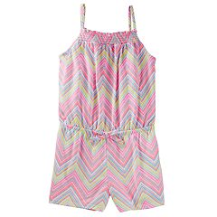 Toddler Girl OshKosh B'gosh® Print Smocked Romper