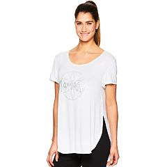 Women's Gaiam 'Namaste' Graphic Short Sleeve Top