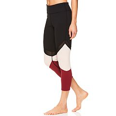 Women's Gaiam Naomi Colorblock Midrise Capri Leggings
