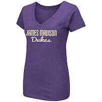 Women's Campus Heritage James Madison Dukes V-Neck Tee