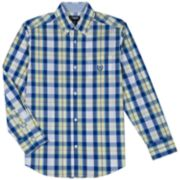 Boys 4-20 Chaps Justin Stretch Button-Down Shirt