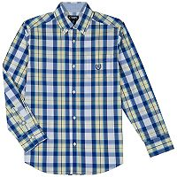 Boys 4-20 Chaps Justin Button-Down Shirt