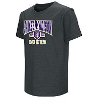 Boys 8-20 Campus Heritage James Madison Dukes Tee