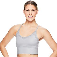 Gaiam Shiva Shine Yoga Medium-Impact Sports Bralette GAW183BR19K