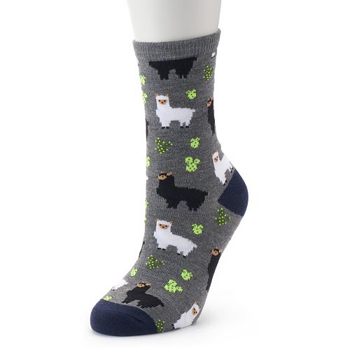 Juniors' SO® Novelty Socks