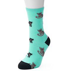 Women's Graphic Print Funny Socks