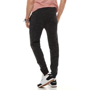 Men's Hollywood Jeans Carlos Pieced Knit Jogger Pants