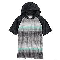 Boys 8-20 Urban Pipeline® Striped Hooded Tee