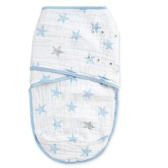 aden by aden + anais Stars Muslin Easy Swaddle