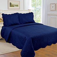 United Curtain Co. Quinn Quilt Set
