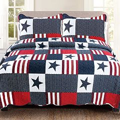 United Curtain Co. Americana Quilt Set