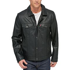 Men's Levi's® Classic Faux-Leather Trucker Jacket