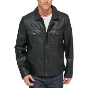 Men's Levi's® Classic Faux-Leather Trucker Jacket