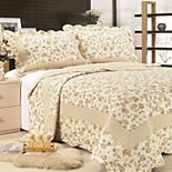 United Curtain Co. Brooke Quilt Set