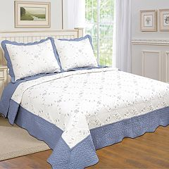 United Curtain Co. Dover Quilt Set