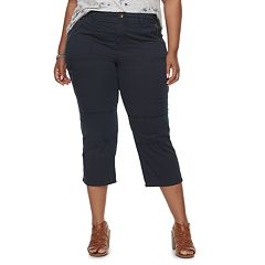 Plus Size SONOMA Goods for Life™ Utility Capris