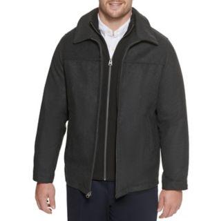 Big & Tall Dockers® Logan Wool-Blend Open-Bottom Jacket with Bib