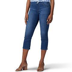 Petite Lee Pull-On Skinny Capri Jeans