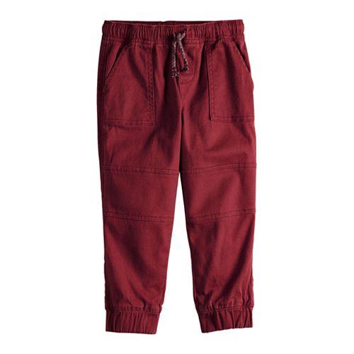 Baby Boy Jumping Beans® Twill Jogger Pants