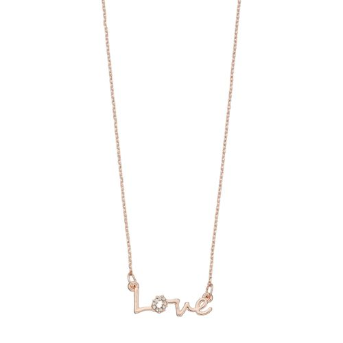 Lc Lauren Conrad Love Link Necklace by Kohl's