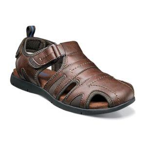 Dr Scholl S Gaston Men S Leather Fisherman Sandals