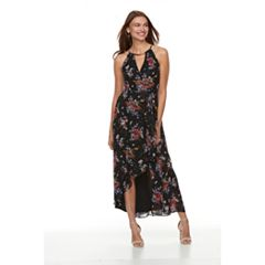 Petite Chaya Keyhole High-Low Maxi Dress