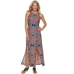 Petite Suite 7 Front Slit Maxi Dress