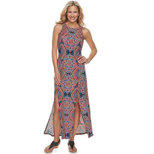 5f31e50b7bd Petite Suite 7 Front Slit Maxi Dress