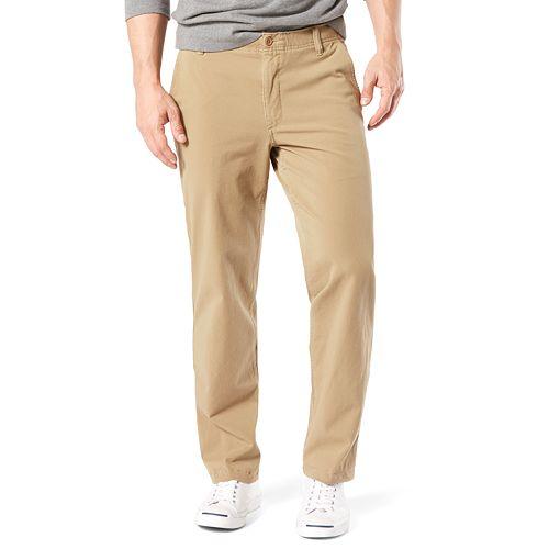 Big & Tall Dockers® Smart 360 FLEX Straight-Fit Downtime Khaki Pants D2